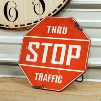 |MTL. STANDING STOP SIGN (24/cs)|