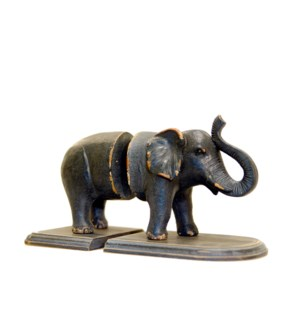 |ELEPHANT BOOKENDS|