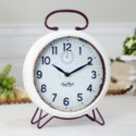 MTL. TABLE CLOCK (8/cs)