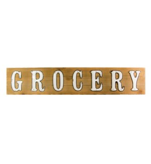 "|WD. WORD ART ""GROCERY""