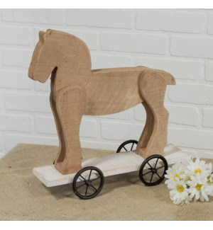|WD. HORSE W/ WHEELS|