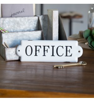"MTL. SIGN ""OFFICE"""