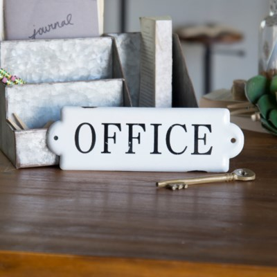 "MTL. SIGN ""OFFICE"" (96/cs)"