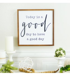 "WD. SIGN ""GOOD DAY"""