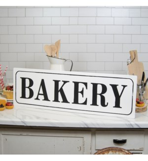 "MTL. WORD ART ""BAKERY"""