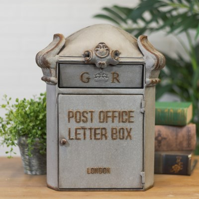 MTL. MAIL BOX DECOR (4/cs)