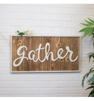 "|WD. WORD ART ""GATHER""