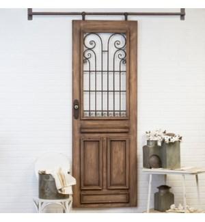 WD. DECORATIVE DOOR