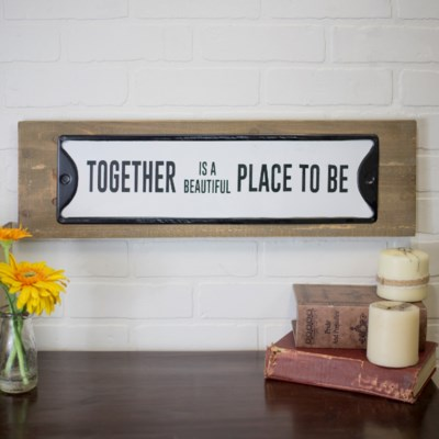 """WD. SIGN """"TOGETHER"""" (6/cs)"""