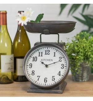 |MTL. TABLE CLOCK SCALE DESIGN|
