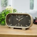 MTL. TABLE CLOCK (12/cs)