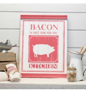 "|WD. SIGN ""BACON""