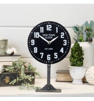 |MTL. TABLE CLOCK BLACK|