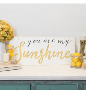 "WD. SIGN ""SUNSHINE"""