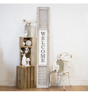 "|WD. SIGN ""WELCOME""