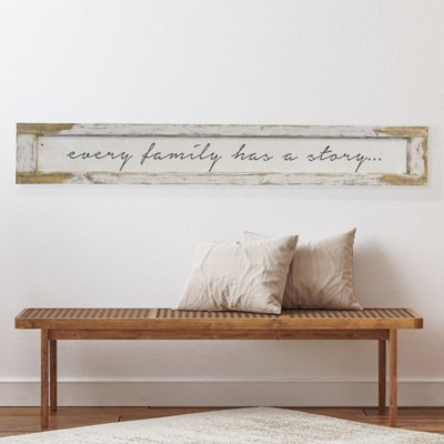 """WD. SIGN """"EVERY FAMILY"""" (4/cs)"""