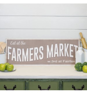 """WD. SIGN """"FARMERS MARKET"""""""