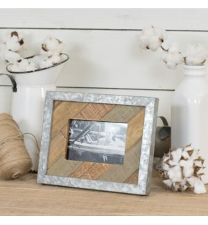 |WD. TABLETOP PICTURE FRAME - HORIZ|