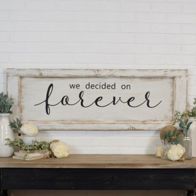 """WD. SIGN """"FOREVER"""" (3/cs)"""