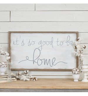 "WD. SIGN ""HOME"""