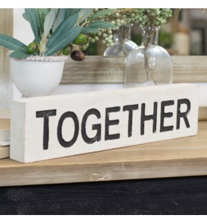 "|WD. WORD ART ""TOGETHER""
