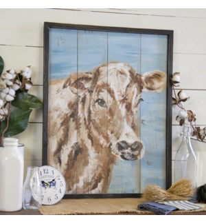 |WD. COW SIGN BLUE|
