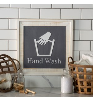 "|WD. SIGN ""HAND WASH""