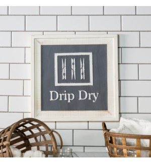 "|WD. SIGN ""DRIP DRY""