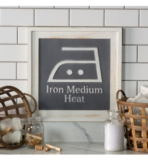"|WD. SIGN ""IRON""