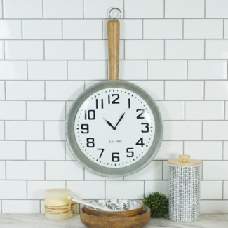 MTL. PAN CLOCK (1/cs)
