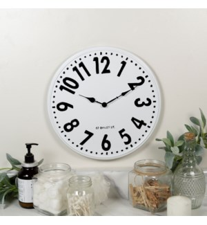 MTL. WALL CLOCK
