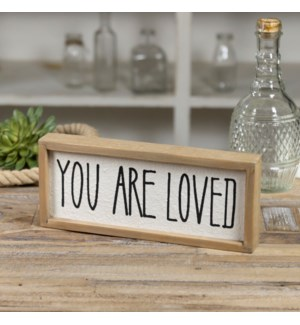 "WD. SIGN ""YOU ARE LOVED"""