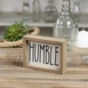 "WD. SIGN ""HUMBLE"""