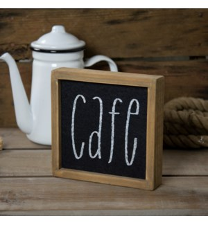 "WD. SIGN ""CAFE"""