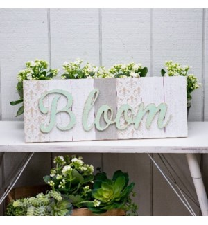 "WD. SIGN ""BLOOM"""