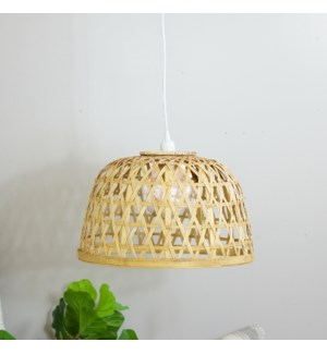 WICKER BASKET LIGHT