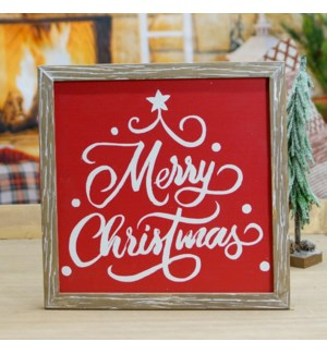 "|WD. SIGN ""MERRY CHRISTMAS""