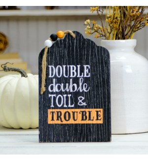 """WD. SIGN """"DOUBLE"""""""