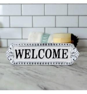 CI DOOR SIGN 'WELCOME'