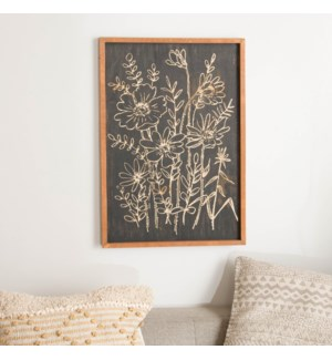 WD. WALL DECOR BLK.