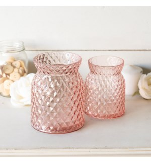 |GLASS CANISTERS S/2|