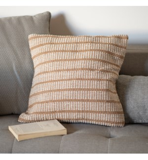 COTTON PILLOW COVER BEIGE