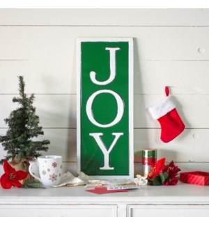 "MTL. SIGN ""JOY"""