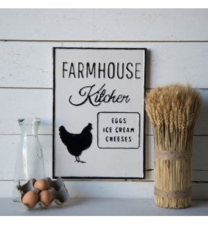 "|MTL. SIGN ""FARMHOUSE KITCHEN""|"