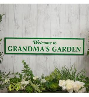 "|MTL. SIGN ""GRANDMAS GARDEN""|"