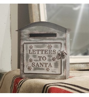 "|MTL. ""LETTERS TO SANTA"" BOX