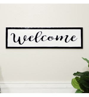 """MTL. SIGN """"WELCOME"""""""