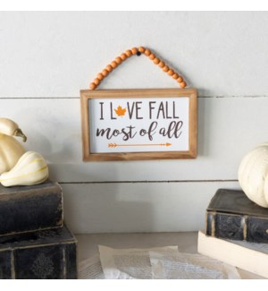 """WD. SIGN """"FALL"""""""