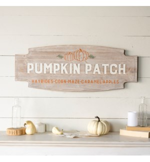 "|WD. SIGN ""PUMPKIN PATCH""