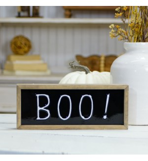 "WD. SIGN ""BOO"""